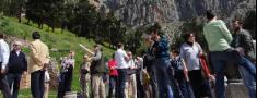 Eiropas mednieki tiekas Grieķijā