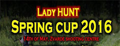 Lady HUNT Spring Cup 2016!