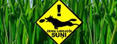Minhauzena laikā medību suņu parāde + lidojošie suņi!