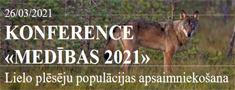 """Šodien konference """"Medības 2021"""""""