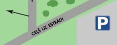 Telšu pilsētiņas plāns